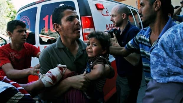 UN school in Gaza hit, killing at least 15