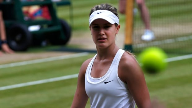 Eugenie Bouchard of Westmount, Que., is ranked No. 7 in the world.