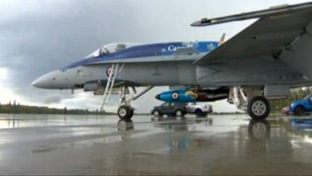 Capt. Adam Runge was on his way to Whitecourt for the Hometown Heroes Airshow scheduled to take place this weekend when his CF-18 was struck by lightning.
