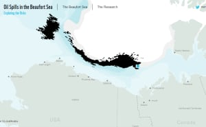 WWF interactive Oil Spills in the Beaufort Sea