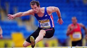 Rhys Williams won the European 400m hurdles title in 2012.