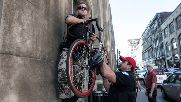 Sebastian Gallup called police after he spotted what he thought was the bike he had stolen from him two years ago.