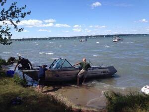 sylvan lake boats