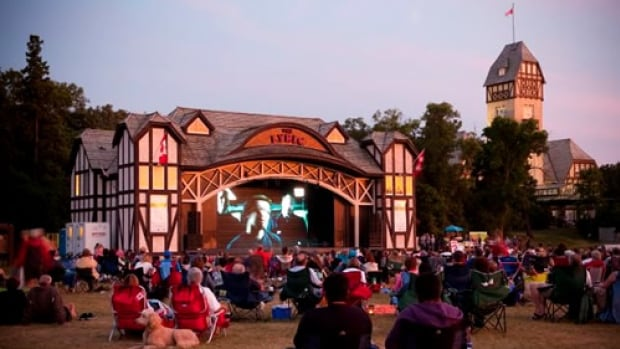 Movies in the Park runs the first four Fridays in August and features eight blockbuster features a large screen at the Lyric Theatre.