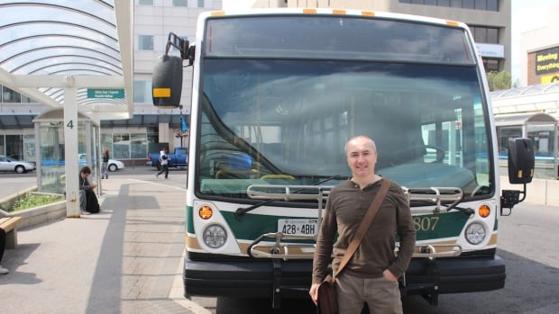 Tom Leduc, the poet laureate of Greater Sudbury, is launching a program called 'Moving with Poetry.' Poems written by Sudburians will be displayed for the public inside city transit buses.