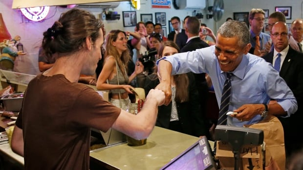 U.S. President Barack Obama has continually opted for the fist bump instead of the riskier traditional handshake.