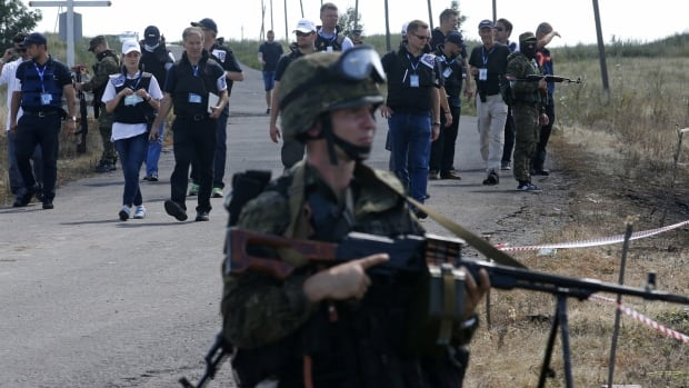 Monitors from the Organization for Security and Cooperation in Europe (OSCE) have been forced to turn back after two attempts to reach the MH17 crash site due to heavy fighting in the area.