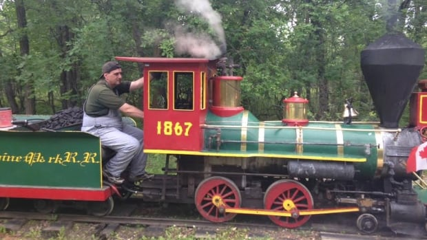 Tim Buzunis has owned and operated the Assiniboine Park steam train since taking it over from his dad in 1988.