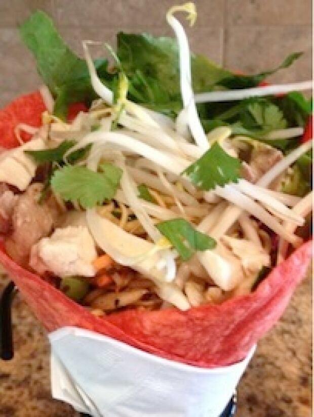 Thai Noodle wrap