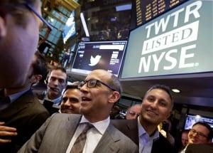 APTOPIX Wall Street Twitter IPO