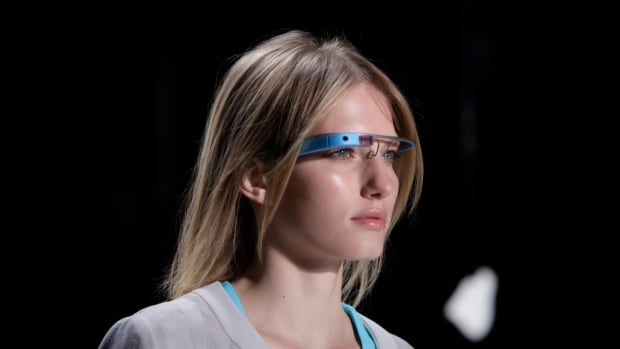 Google Glass, shown here on a model, will be worn by members of the Teatro Lirico's production of Puccini's Turandot.