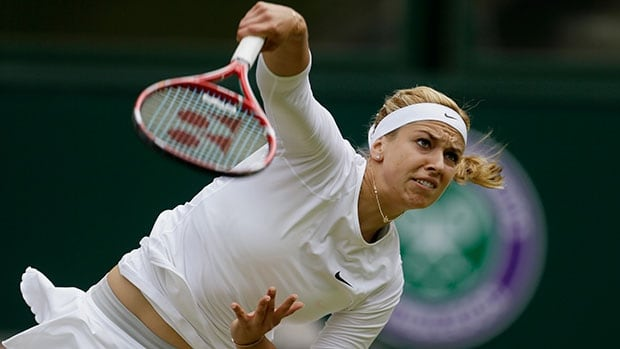 Germany's Sabine Lisicki blasted a 131 mile-per-hour (210 km/h) serve, setting the record for fastest serve in WTA tennis history.