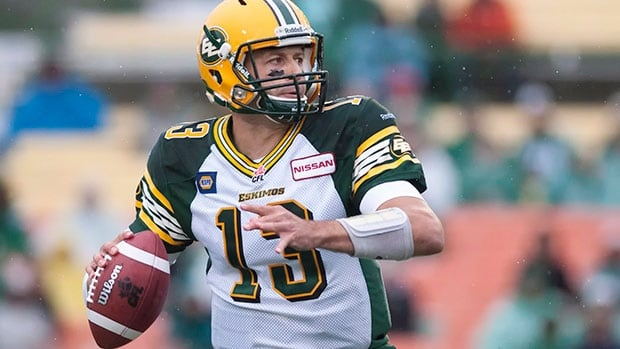Quarterback Mike Reilly passed for 1,142 yards on 110-for-173 passing (63.6 per cent) and threw for nine touchdowns to help lead the Edmonton Eskimos to a 4-1 start in the month of July.
