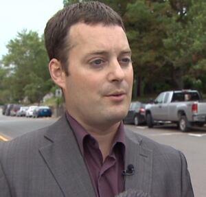Nova Scotia Environment Minister Randy Delorey