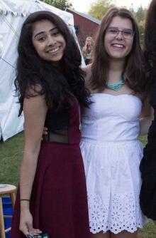 Anisha Cheema and Julianna Perkins