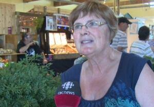 Vegetable farmer Carol Blum