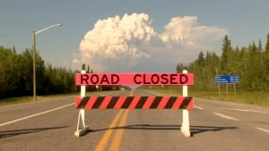 NWT Highway 3 closed at Fort providence