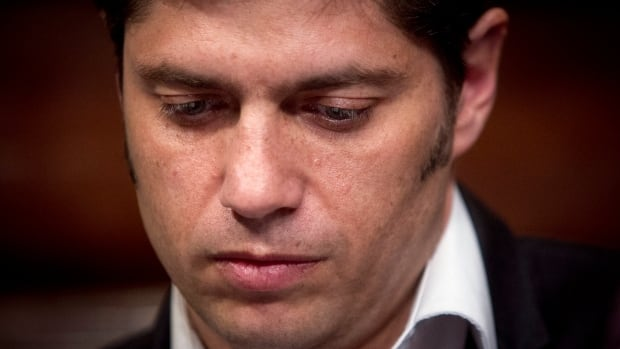Argentina's Economy Minister Axel Kicillof on Wednesday said the country offered a group of holdout creditors the same reduced payment terms it has agreed to pay other holders of its restructured bonds, but the holdouts refused the offer.
