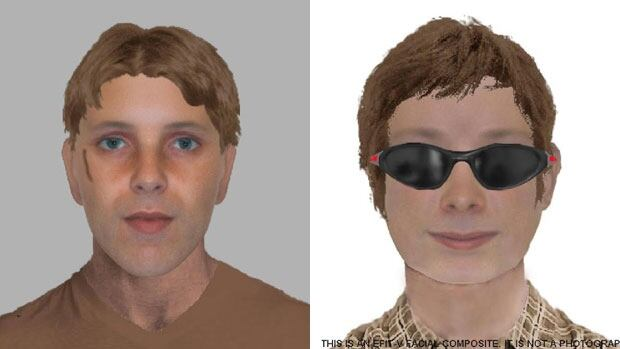 Waterloo Regional Police released these two composite sketches taken after incidents where a man approached girls on the Victoria Day and Canada Day long weekends earlier this year. Police believe the same suspect may be involved in both incidents.