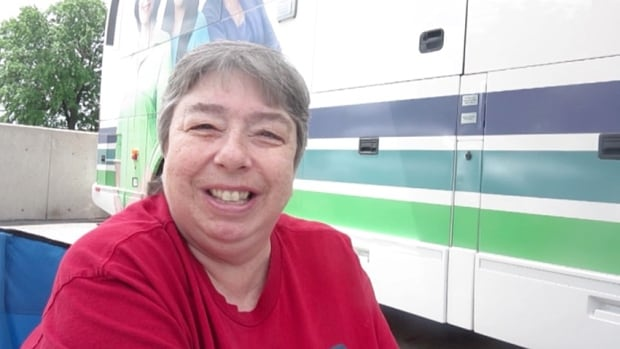 Catherine Murray learned that she had breast cancer after being screened on the Screened for Life coach. The coach is one year old this month and has screened more than 600 people.