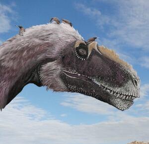 Early birds with dinosaur