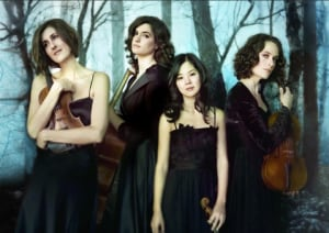 The Cecilia Quartet performing at The Tuckamore Festival