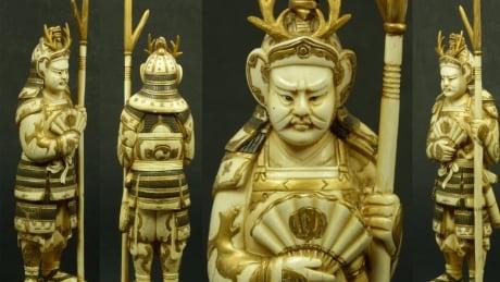 Antique Dealer Figure Man