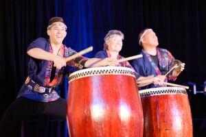 Hinode Taiko drum group, Japanese Pavilion