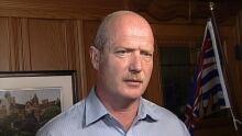 B.C. Finance Minister Mike de Jong