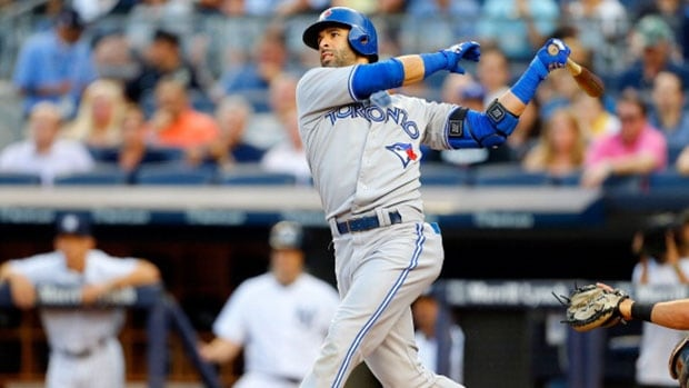 """Slugger Jose Bautista found the Jays' trade deadline inactivity on Thursday """"a little disappointing."""""""