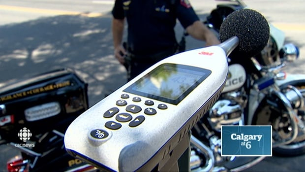 This device is meant to measure excessively noisy vehicles. Loud motorcycles and cars could trigger tickets under Traffic Safety Act.