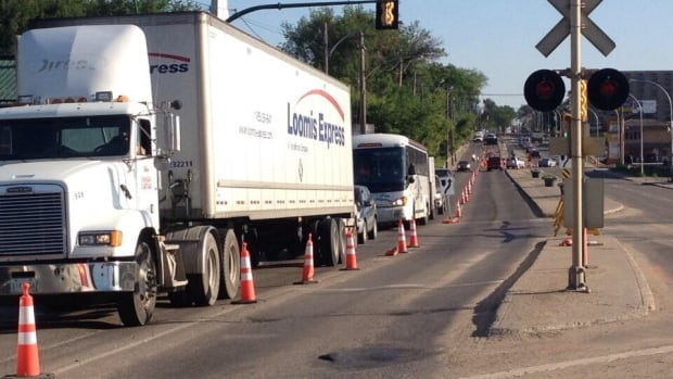Round the clock road work is reducing traffic snarls in Saskatoon this summer.
