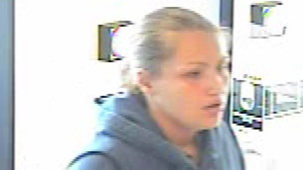 Winnipeg police say this woman robbed a Royal Bank on Main Street on Thursday.