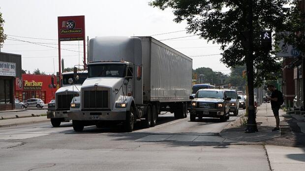 The Burlington Skyway closure led to heavier traffic on Hamilton roads.