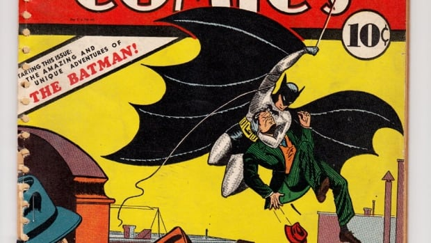 This undated image provided by ComicConnect.com shows a May 1939 copy of Detective Comics, which featured one of the earliest appearances of Batman. The comic is being auctioned online along with a nearly mint copy of the first Incredible Hulk comic book and a 1942 Archie comic book, Archie No. 1, which marked the first time the red-headed character appeared in his own publication.