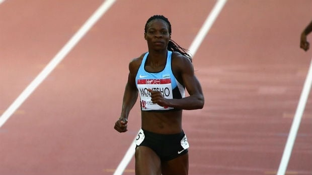 Amantle Montsho of Botswana has become the second Commonwealth Games athlete to fail a doping test in Glasgow.