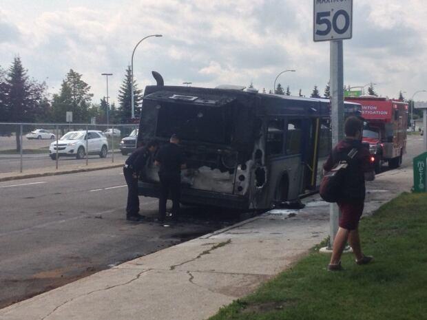 ETS bus fire