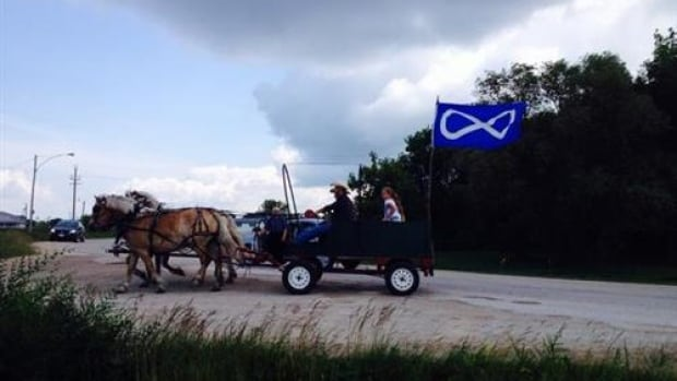 Métis Days celebrations began in St. Laurent, Man. Saturday morning and conclude Sunday evening.