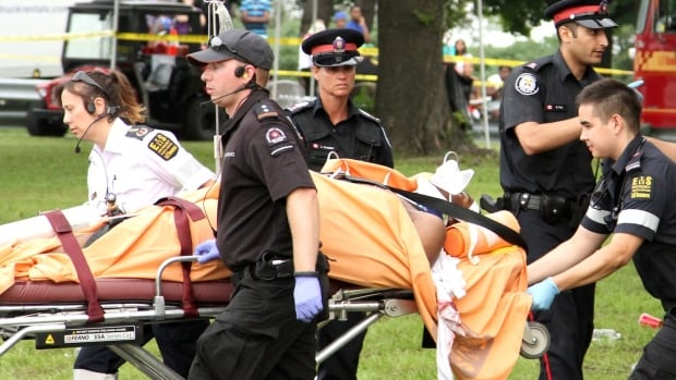 A Toronto-area resident was stabbed in the chest during an altercation Saturday on the Caribbean Carnival parade route. On Sunday, Toronto police said a 14-year-old boy has been charged with attempted murder, and the victim is in serious condition.