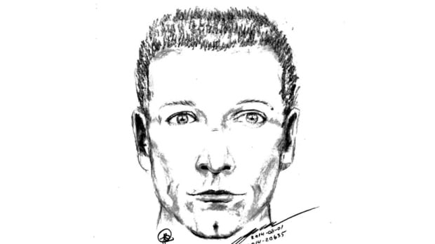 A 44-year-old woman driving in Nanaimo, B.C., was followed and then attacked by a man who told her he wanted to take her out for coffee, and then tried to pull her out of her car. Nanaimo RCMP released a sketch of the suspect, who is white with an athletic build, and is believed to be in his 40s.