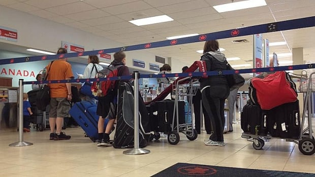 Air travellers in Charlottetown should expect longer lineups than usual in the summer of 2014.