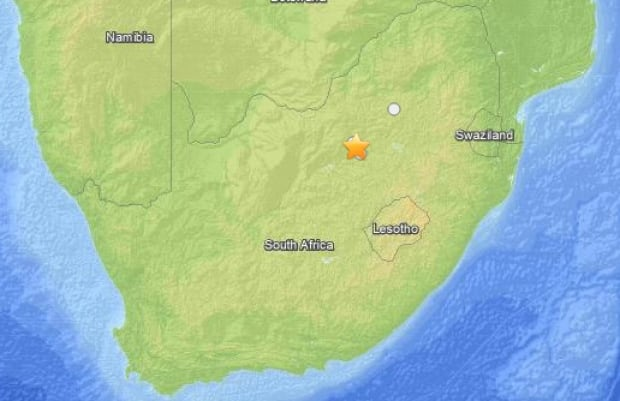 Earth Quake 6km E of Orkney