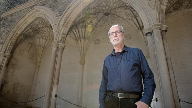 Commemorations of lives lost in the First World War are scattered across Canada, including at Soldiers' Tower at the University of Toronto, where archivist Harold Averill says there was 'no question' there would be a memorial of some kind.