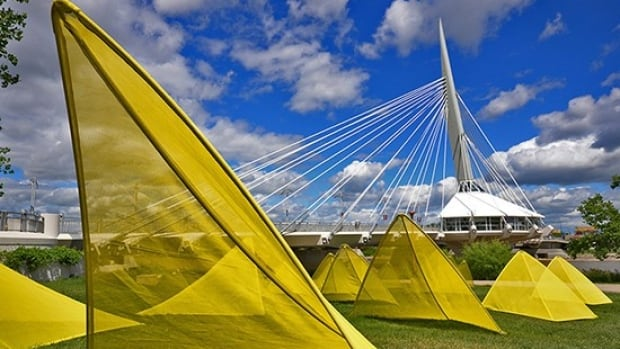 Cool Gardens is a public exhibition of seven installations along a path from the VIA station to Provencher Boulevard.