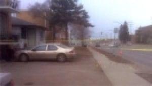 22nd Street crime scene