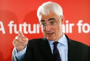 Scottish independence Alistair Darling