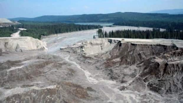 Tailings spill at B.C.'s Mount Polley Mine