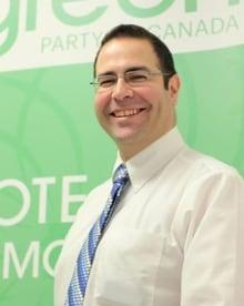 Former Green party president Paul Estrin