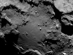 Comet 67P/Churyumov-Gerasimenko closeup