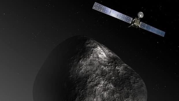 Rosetta spacecraft reaches comet